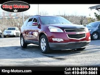 Chevrolet Traverse 2009 Baltimore, 21207