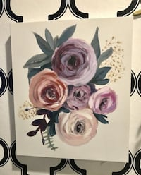 Floral Wall Art, by Oliver Gal, 16 in x 20 in, $19 Santa Ana, 92704
