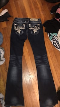 Black and white rock revival jeans Medway, 45341