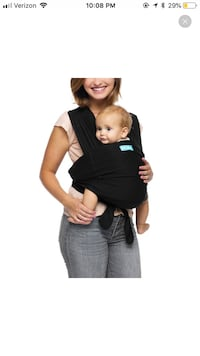 MOBY baby carrier in black Alhambra, 91801