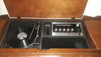 Stereo player/record player
