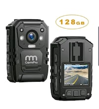 1296P HD Police Body Camera w/Night Vision and GPS NEW ½ RETAIL