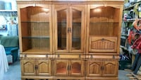 3 PC lighted curio/hutch cabinet Elk River, 55330