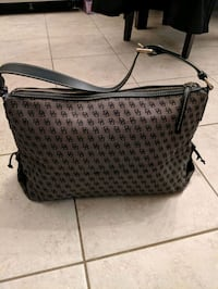 women's gray and black leather tote bag Toronto, M9B 1S9