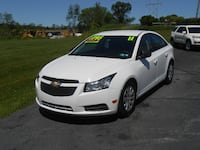 2011 CHEVY CRUZ ONE OWNER ONLY 67000 MILES York, 17402