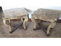 New Granite Side Tables Set of 2 Dearborn Heights, 48125