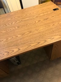 rectangular brown wooden coffee table Surrey, V4N 0X7