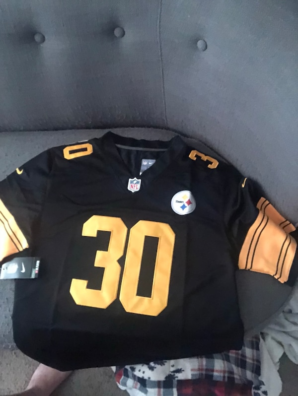 buy popular dd0b4 0347d James Conner Pittsburgh Steelers Jersey