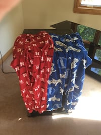Blue and red pajama.  $5.00 for both!excellent condition! Omaha, 68106