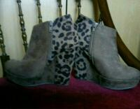 Botines animal print talla 37 Madrid, 28017