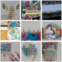 HUGE Unicorn birthday party decor lot everything  Wrightsville, 17368