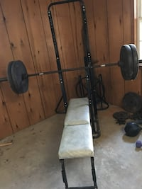 black and gray bench press Rockville, 20850