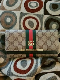 brown and black Gucci wallet Centreville, 20120
