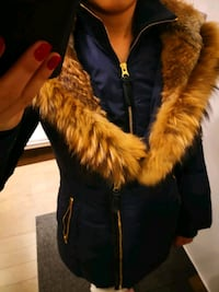 Mackage fur jacket.