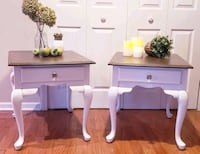 Nightstands or end table. Refinished H24 L22 D27  Arlington Heights, 60004