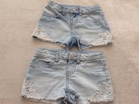2 very elegant Shorts for kids in excellent conditions size XS Hamilton, L8V 4K6