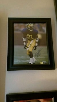 Michigan Desmond Howard auto cert JSA Taylor, 48180