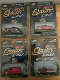 JADA TOYS DIECAST COLLECTIBLE STREET LOW