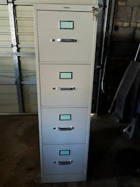 Ivory 4-drawer filing cabinet Chicago, 60629