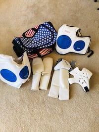 TaeKwondo Sparring Gear w/ Gear Bag(for kid) Sterling, 20165