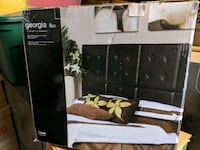 Black Faux Leather Headboard Innisfil, L9S 2M6