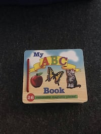 Melissa & Doug magnetic abc book Nashua, 03062