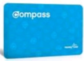adult compass card