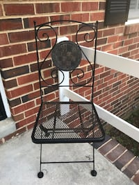 Iron bistro set/front porch chairs North Chesterfield, 23224