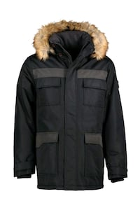 The Not-So Military Parka  Located Downtown Calgary