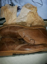Brand new leather boots (Chuckas) Halifax, B3P 2T8