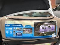 Tent that sleeps 8. Never used, and never even opened. It's a great looking tent and priced reasonably. 252 sq ft of camping comfort.  New York, 10306