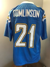 Reebok Tomlinson San Diego Chargers Football jersey