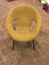 Pier 1 Imports wicker chair. Chicago, 60618