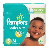 NEW Pampers Size 5 (27 + pounds)