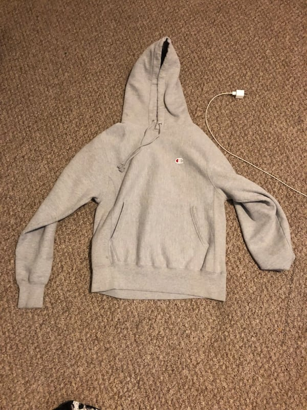 Small Grey champion hoodie  5c4c008a-6dc8-4179-a9ca-5924daf22d95