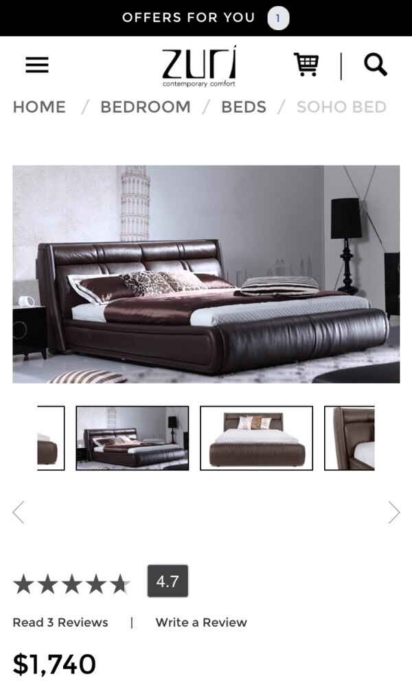 Pleasing Italian Leather Queen Bed Onthecornerstone Fun Painted Chair Ideas Images Onthecornerstoneorg