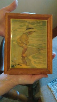 Tile with girl image collectable Modesto, 95350