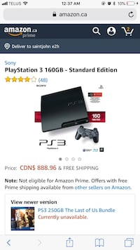 PS3 in perfect condition Toronto, M2N