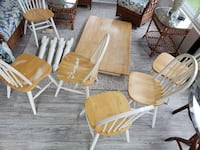 Table with 6 chairs BELAIR