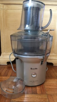 gray and black Breville juice extractor Bethesda, 20817