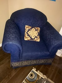 Selling single chair- royal blue with gold and copper accents Brampton, L7A 1G5