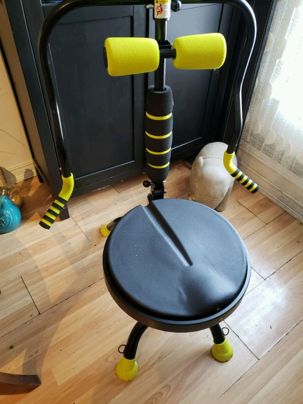 black and yellow rocket chair  a3a63fa0-9ebd-4717-86eb-1baabb7786da