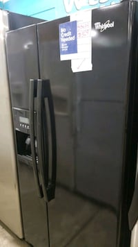 Whirlpool side-by-side refrigerator 33x66.  Manorville, 11949