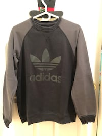 black and gray Adidas pullover hoodie Surrey, V3X 1N5