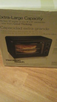 black and gray toaster oven box New Port Richey, 34654