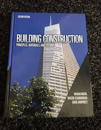 Building Construction: Principles, Materials, & Systems (2nd Edition) Markham, L3T 1B3