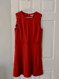 Lila Rose Dress, Red/Orange Leesburg, 20176