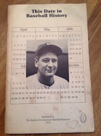 VINTAGE book this week in baseball Youngstown