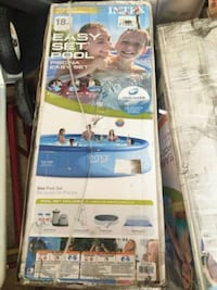 Easy set several sizes available swimming pool Intex 15X42 New
