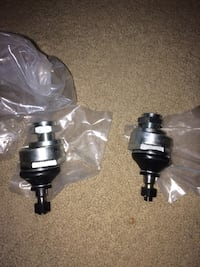 Adjustable ball joints- front left and right side for upper control arm. Fits Honda Civic, Acura Integra, Acura RL 33 km